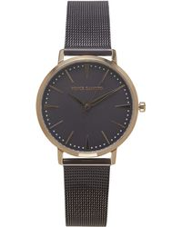 Vince Camuto - Purple Mesh-band Watch - Lyst