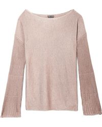Vince Camuto - Rib-knit Flare-sleeve Sweater - Lyst