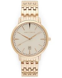 Vince Camuto - Classic Link Watch - Lyst