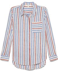 Vince Camuto - Two By Striped Button-up Shirt - Lyst