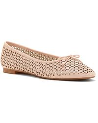 bd07d40f173 Lyst - Vince Camuto Louise Et Cie Bitsy- Penny Loafer Flat in Metallic