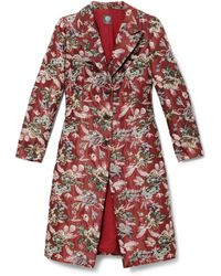 Vince Camuto - Floral Tapestry Coat - Lyst