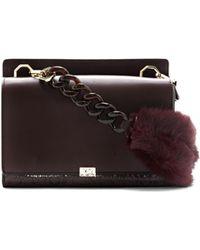 Vince Camuto - Louise Et Cie Brinn – Fur-handle Shoulder Bag - Lyst