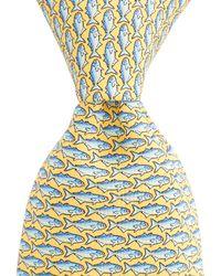 Vineyard Vines - Blue Fish Tie - Lyst