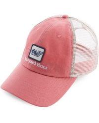 Vineyard Vines - Low Pro Decon Whale Trucker Hat - Lyst