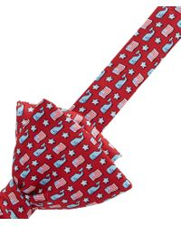 Vineyard Vines - Whale & Flag Bow Tie - Lyst