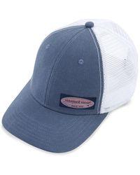 Vineyard Vines - High Profile Surf Label Trucker Hat - Lyst