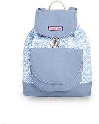 Vineyard Vines Painted Patchwork Daypack Bag - Blue