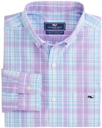 Vineyard Vines - New Providence Plaid Classic Tucker Shirt - Lyst
