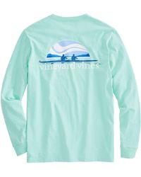 Vineyard Vines | Long-sleeve Rowing Pocket T-shirt | Lyst
