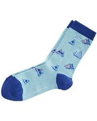 Vineyard Vines - Sailboat Icon Socks - Lyst