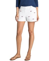 Vineyard Vines - 3 1/2 Inch Flag Whale Every Day Shorts - Lyst