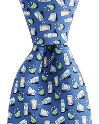 Vineyard Vines - Extra Long Tequila & Lime Tie - Lyst