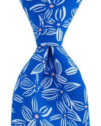 Vineyard Vines - Kennedy Linear Floral Skinny Tie - Lyst