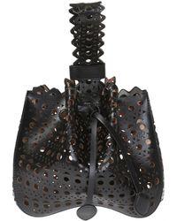 Alaïa - Bucket Hand Bag - Lyst