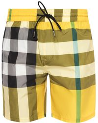 Burberry - Swimming Shorts - Lyst