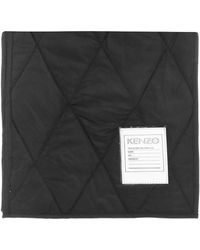 KENZO - Quilted Scarf - Lyst