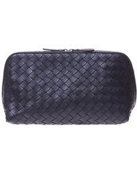 Bottega Veneta - Leather Cosmetic Bag - Lyst
