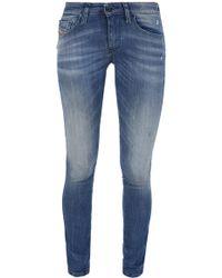 DIESEL - 'skinzee' Super Skinny Jeans - Lyst