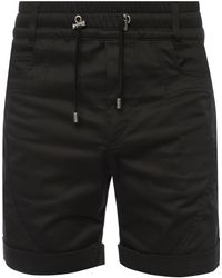 Balmain - Shorts With Contrasting Stripes - Lyst