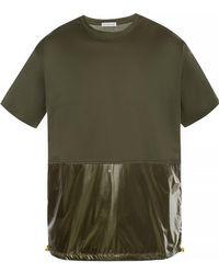 Moncler - Green Maglia Combo T-shirt - Lyst