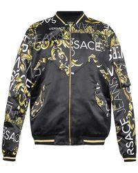 Versace Jeans - Baroque Pattern Jacket - Lyst