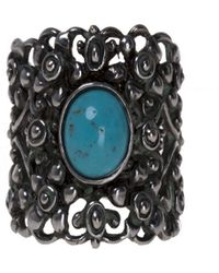 Gucci - Resin Detail Ring - Lyst