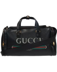 Gucci - Branded Holdall - Lyst