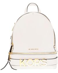 Michael Kors - Rhea Medium Embellished Leather Backpack - Lyst
