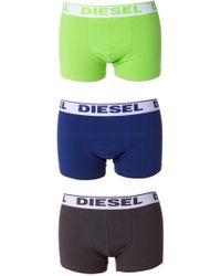 DIESEL - Boxer Three-pack - Lyst