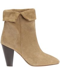 Isabel Marant - 'darilay' Heeled Ankle Boots - Lyst