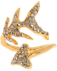 Givenchy - Ring With Swarovski Crystals - Lyst