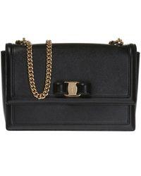 Ferragamo | 'ginny' Shoulder Bag | Lyst