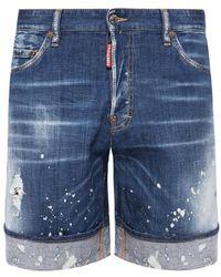 DSquared² - Denim Shorts - Lyst