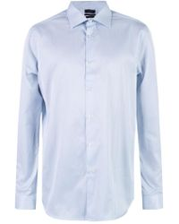 Paul Smith - Pinstriped Cotton Shirt - Lyst