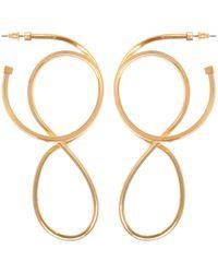 Balenciaga - Brass Earrings - Lyst