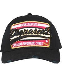 DSquared² - Branded Baseball Cap - Lyst