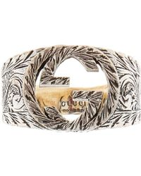 Gucci - Embossed Ring - Lyst