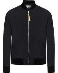 Loewe - 'bomber' Jacket With A Print - Lyst