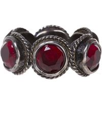 Gucci - Crystals Ring - Lyst