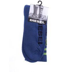 DIESEL - Logo Socks - Lyst