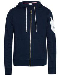 Moncler Gamme Bleu - Sweatshirt With Logo Sleeve - Lyst