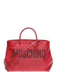Moschino - Logo-embossed Shoulder Bag - Lyst