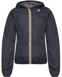 K-Way - 'lily Poly Jersey' Jacket - Lyst