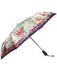 Moschino - Patterned Umbrella - Lyst
