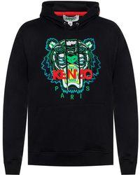 KENZO - Tiger Print Sweater - Lyst