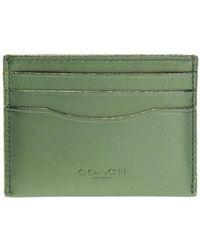 COACH - Glittered Card Case - Lyst