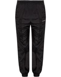 c59a598e Off-White c/o Virgil Abloh Tape Sweat Pant in Black for Men - Lyst