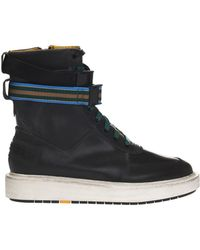 DIESEL - 'c-cage High St' Ankle High Sport Shoes - Lyst