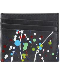 Maison Margiela - Paint-splattered Card Case - Lyst